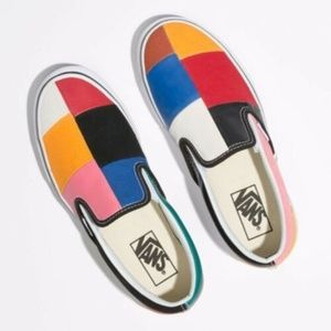 "Brand New Vans Classic Slip-On ""Patchwork"""